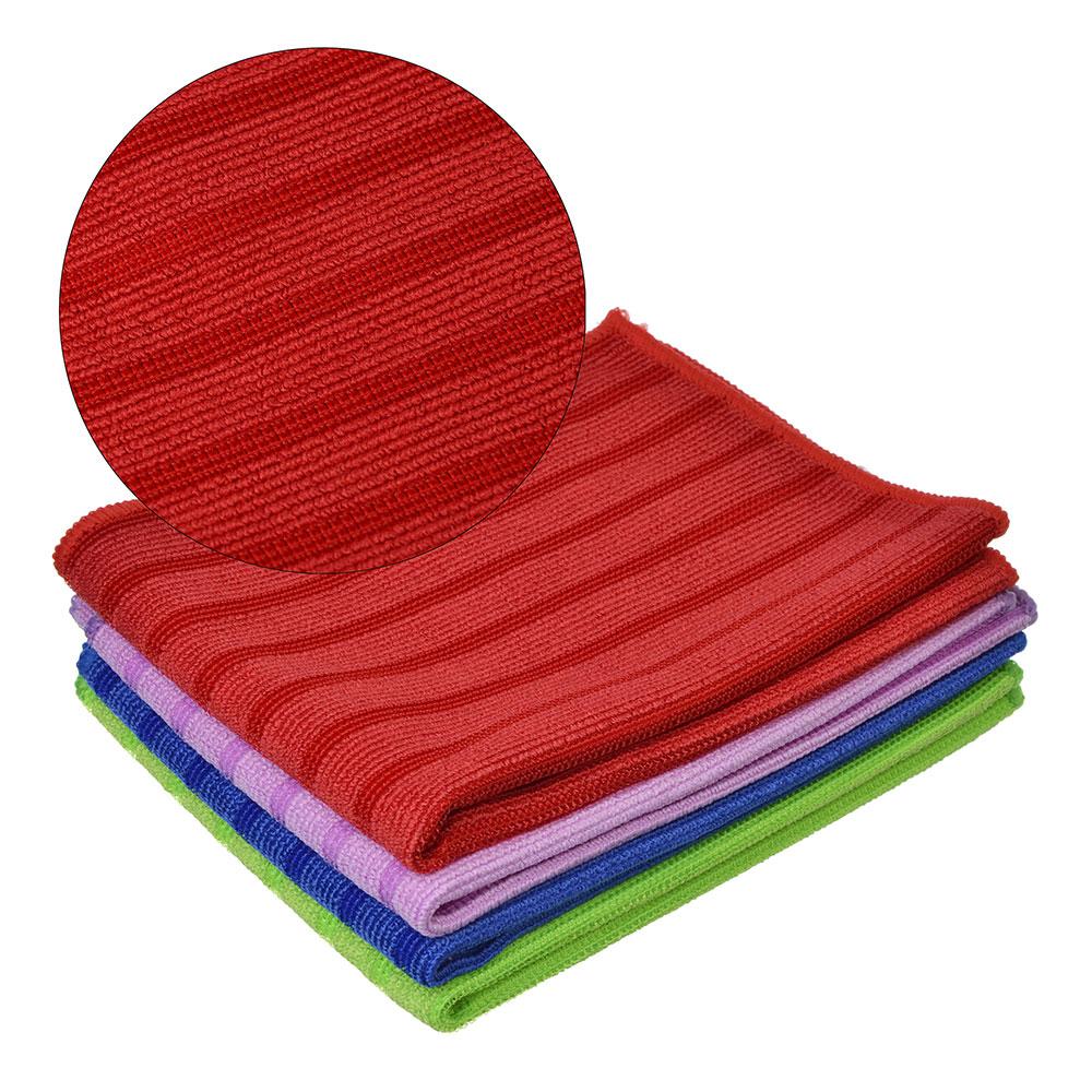 Набор салфеток для сильных загрязнений из микрофибры 2 шт, 30х40 см, 300 гр./кв.м, 4 цвета, VETTA