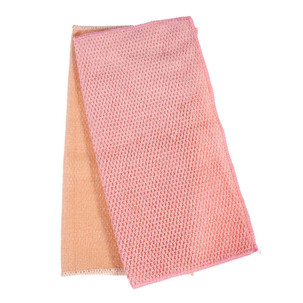 Набор салфеток для ванной комнаты из микрофибры 2 шт, 30х30 см, 320 гр./кв.м, 4 цвета, VETTA