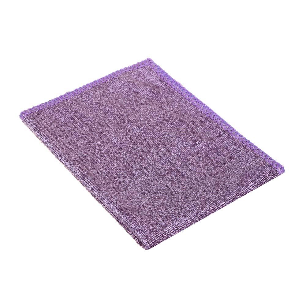 Набор салфеток для деликатных поверхностей из микрофибры 2 шт, 25х35 см, 280 гр./кв.м, 3 цвета, VETT