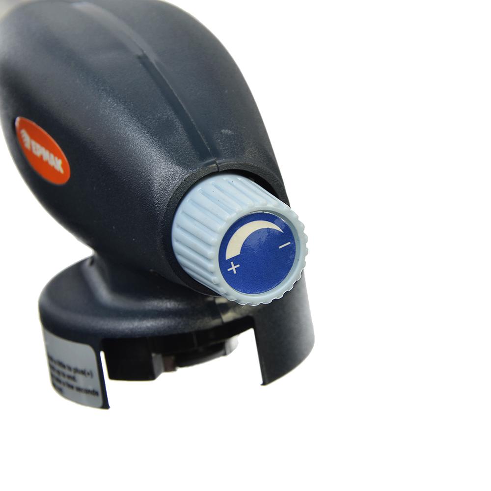 ЕРМАК Горелка газовая, пьезо, на цанговый баллон, сопло 24мм, 1,1кВт, 17x6,6x5,1см