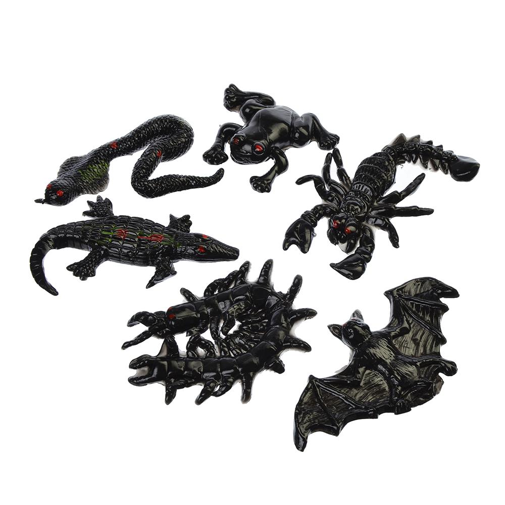 Игрушка-лизун в виде насекомого/животного, полимер, уп.15х12см, 10 дизайнов