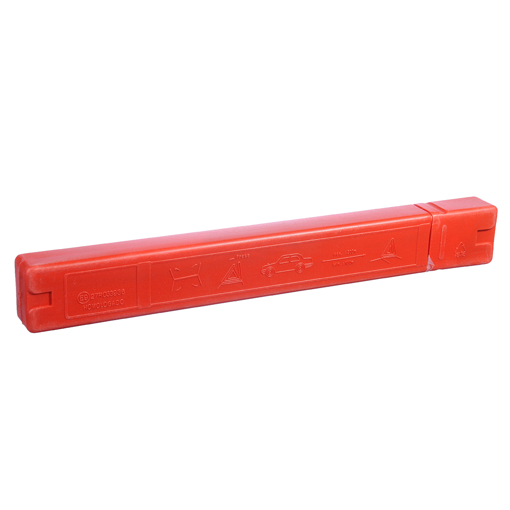 Знак аварийной остановки в пластиковой тубе, усиленный, 43*43см