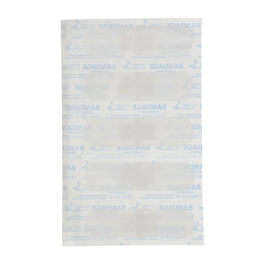 Лейкопластырь бактерицидный Прозрачный,  Master Uni