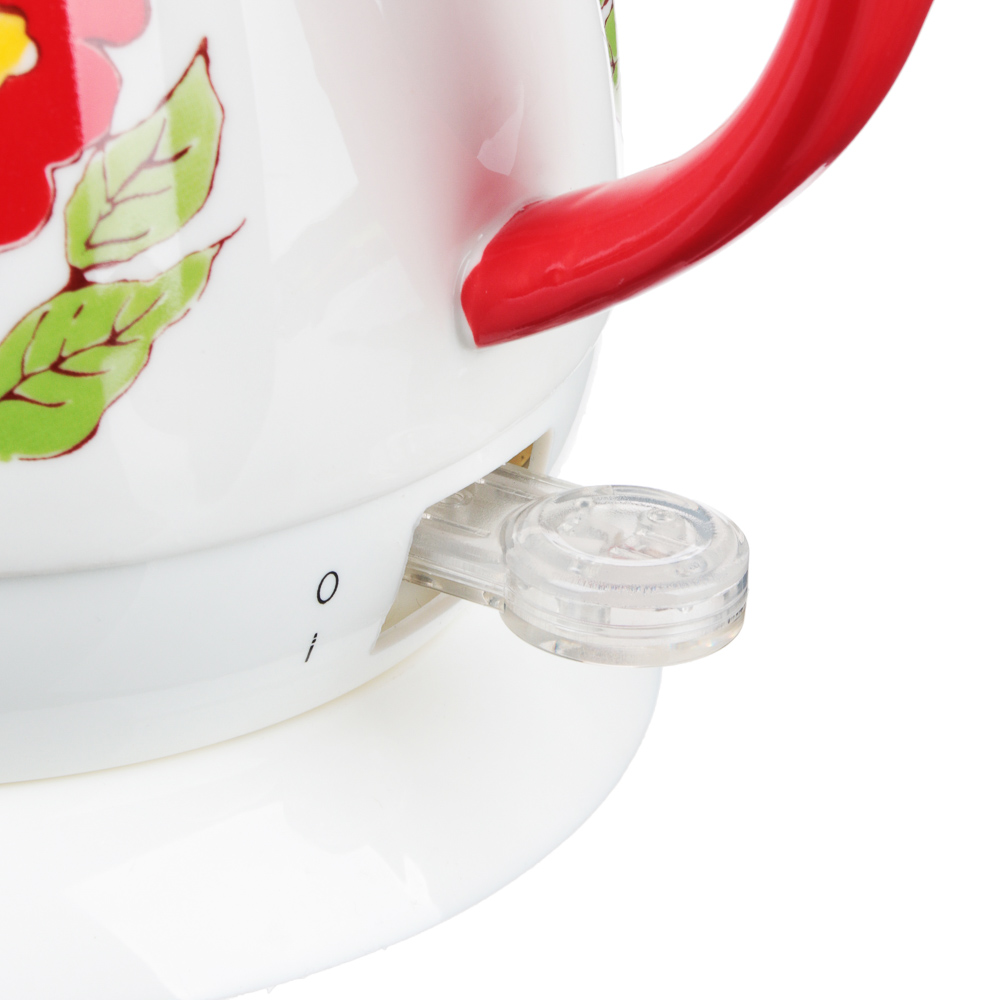 LEBEN Чайник электрический 1,7л, 1850Вт, скрытый нагр.элемент, автооткл., нерж, HHB1785
