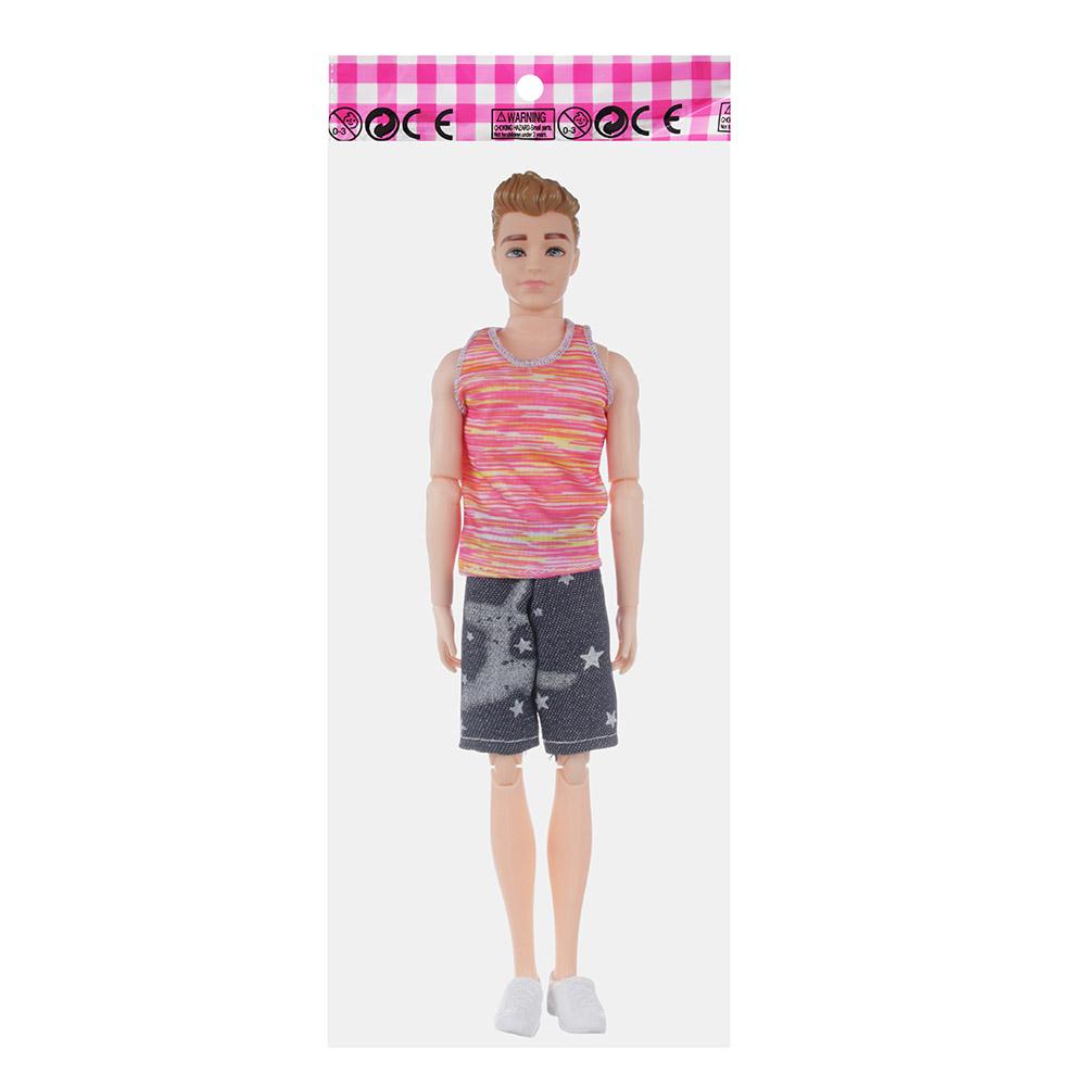 ИГРОЛЕНД Кукла-мальчик, пластик, полиэстер, 29см, 4 дизайна, 99119