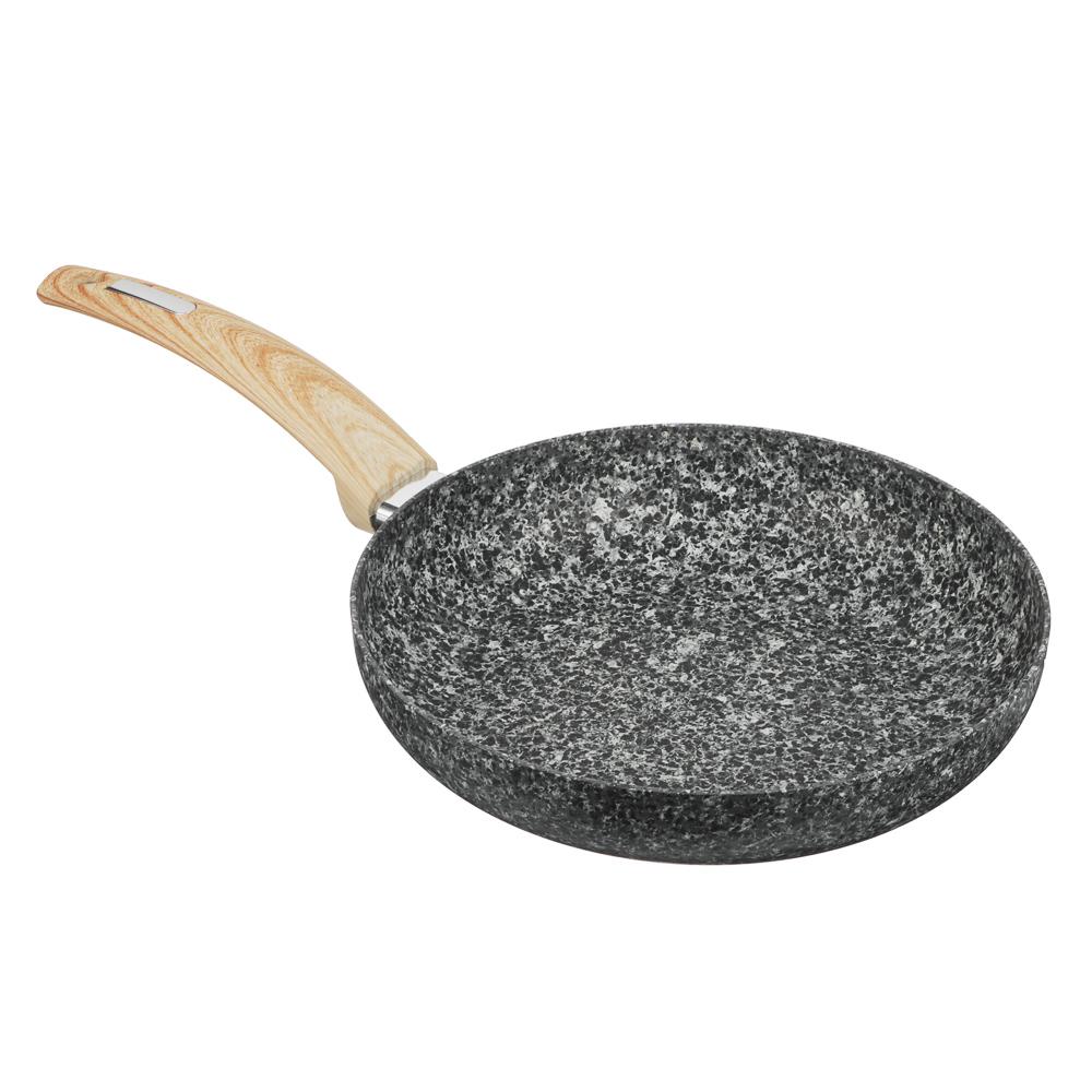 """Сковорода d.24 см SATOSHI Аира, антипригарное """"гранитное"""" покрытие"""