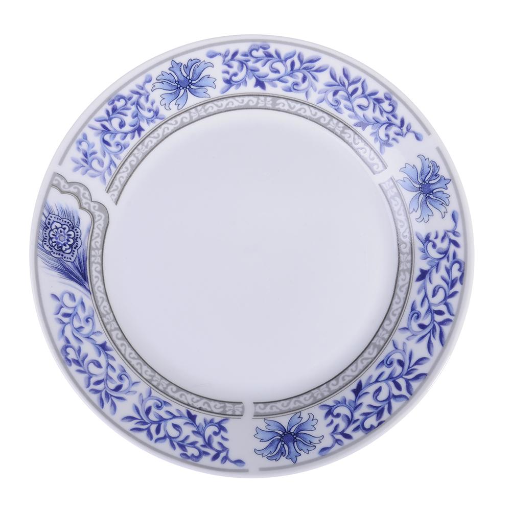 """Тарелка десертная фарфоровая, 19 см, """"Кружево"""""""