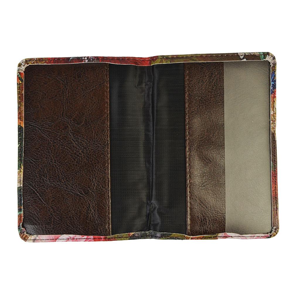 Обложка для паспорта, 13,7х9,6см, искусств.кожа, #3