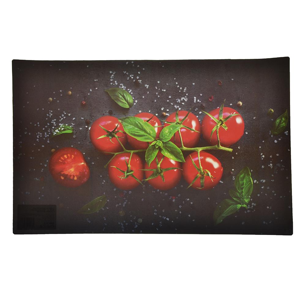 """Салфетка сервировочная, ПВХ, 43x28см, """"Овощное ассорти"""", 2 дизайна, Дизайн GC"""