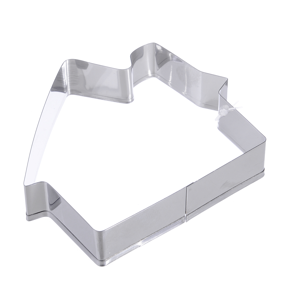 "VETTA Форма для печенья 9,5х2см, ""Домик"", нерж. сталь"