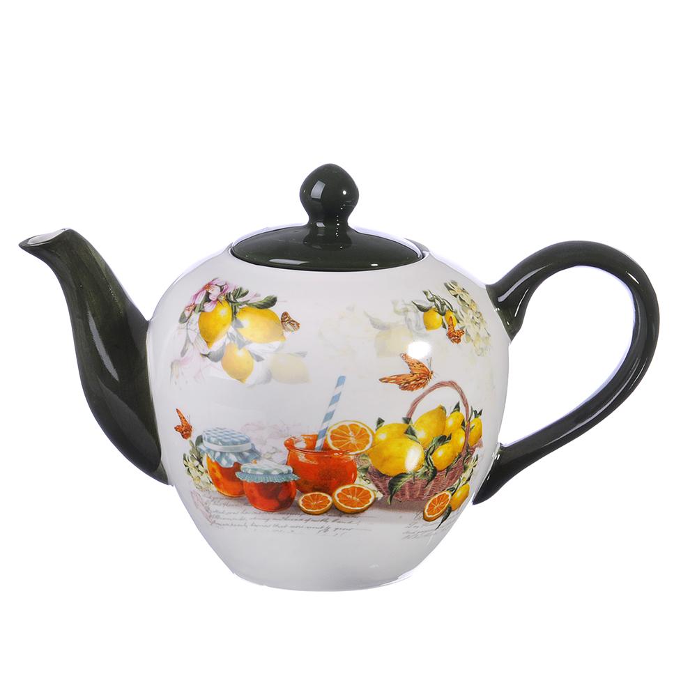 MILLIMI Лимонад Чайник заварочный, 1200мл, керамика