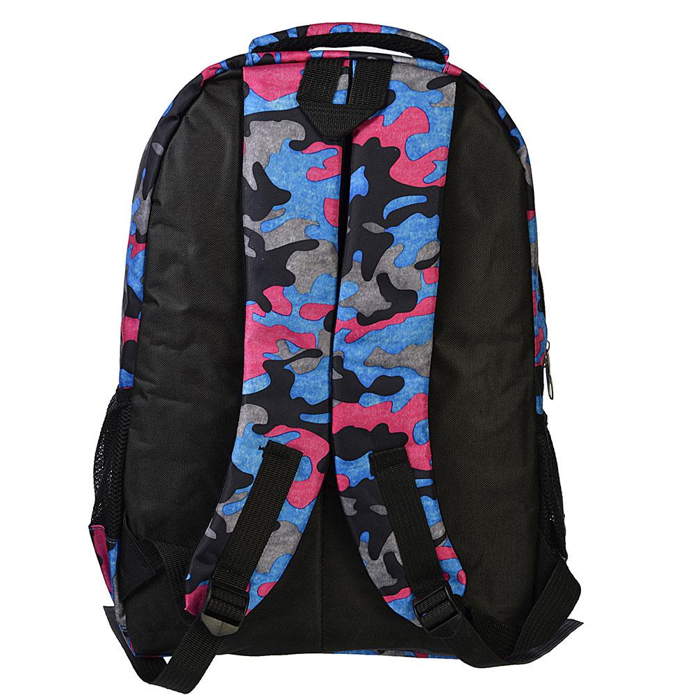 Рюкзак спортивный, нейлон, 46x31x14 см, 3 цвета, SILAPRO