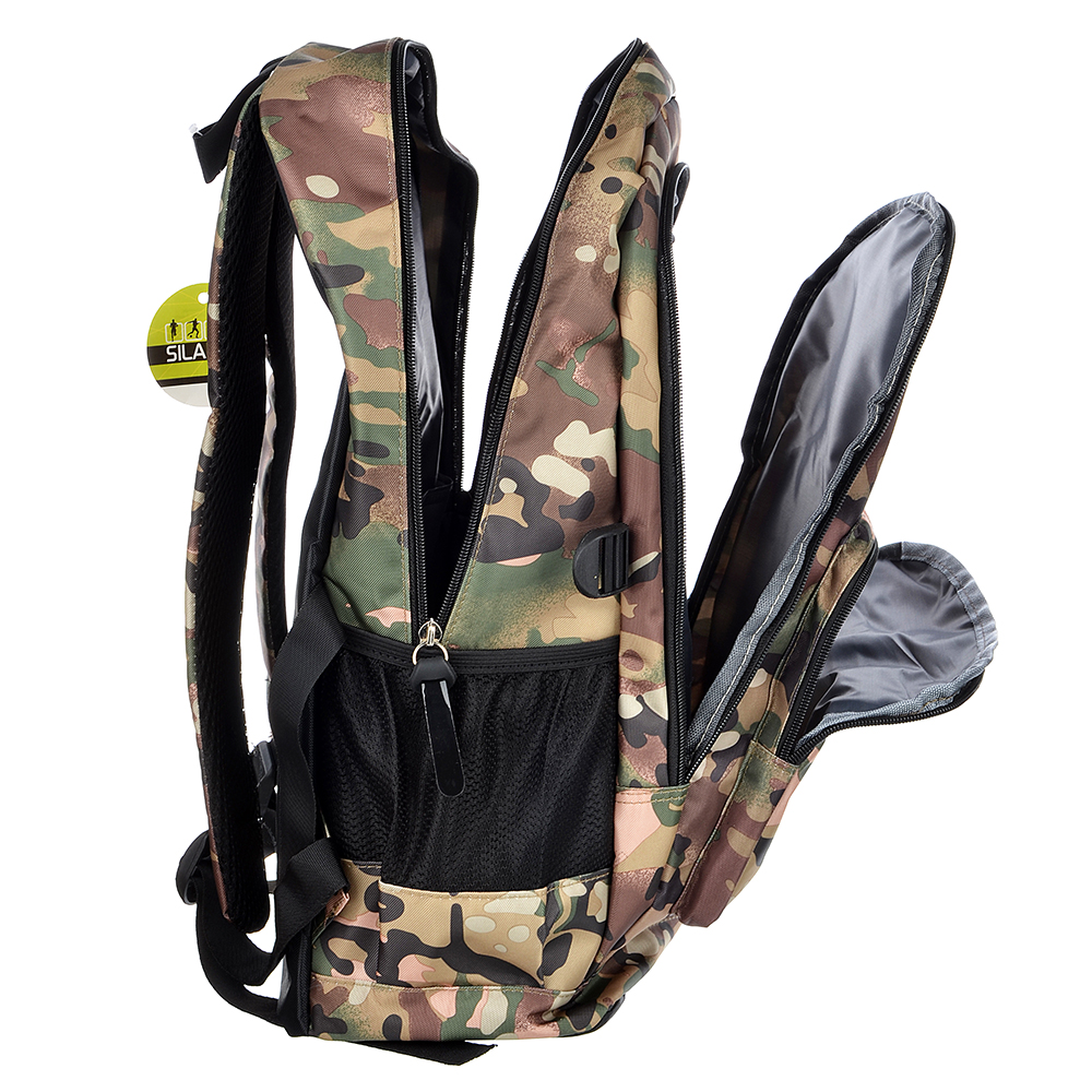 SILAPRO Рюкзак спортивный, полиэстер, 46x32см, 3 цвета