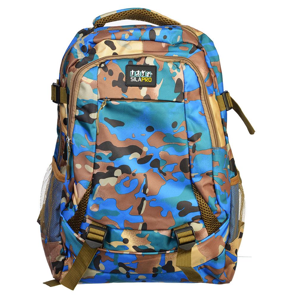 Рюкзак спортивный, нейлон, 46x32 см, SILAPRO