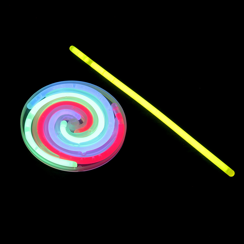 Леденец флуоресцентный, 28х11,2см, пластик, флуоресцентная краска