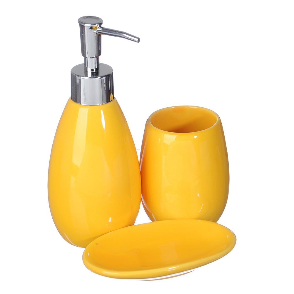 Набор для ванной 3 предмета, керамика, Модерн