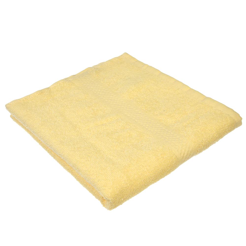 "Полотенце для лица махровое, хлопок, 50х90см, бежевое, ""Grace"""