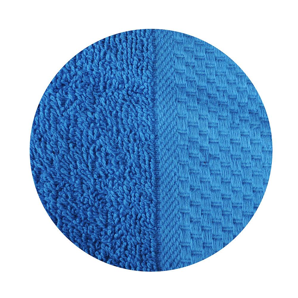 """Полотенце для лица махровое, хлопок, 50х90см, синее, """"Grace"""""""