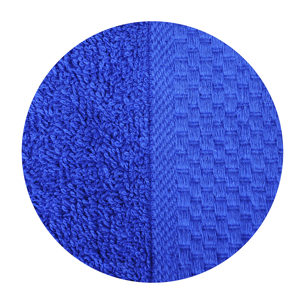 """Полотенце для лица махровое, хлопок, 50х90см, голубое, """"Grace"""""""