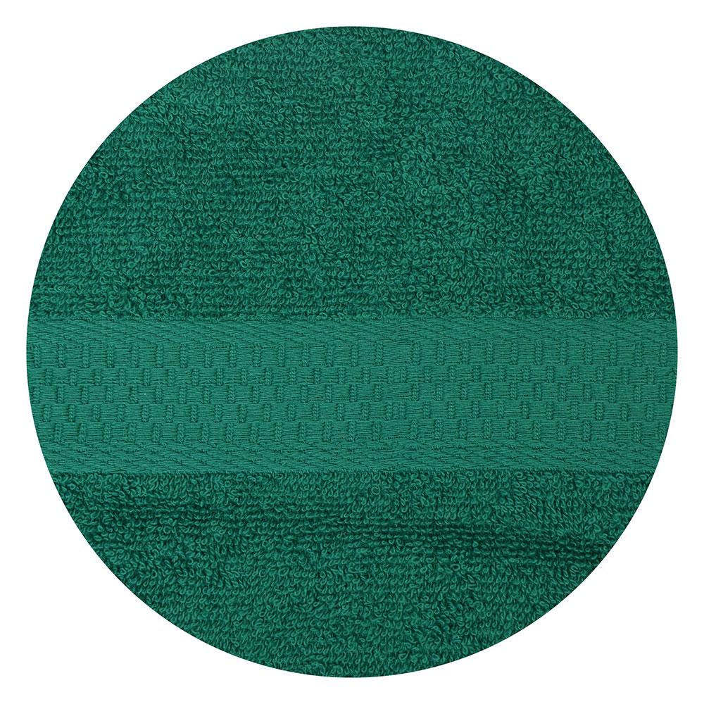 "Полотенце для лица махровое, хлопок, 50х90см, зеленое, ""Grace"""