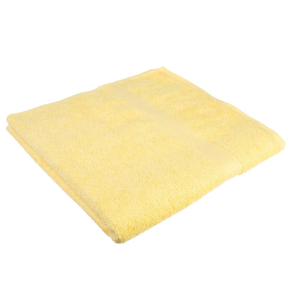 Полотенце банное махровое, 70х130см, бежевое