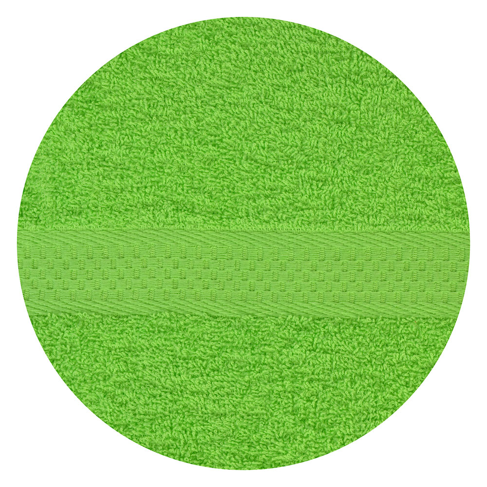 Полотенце банное махровое, 70х130см, зеленое