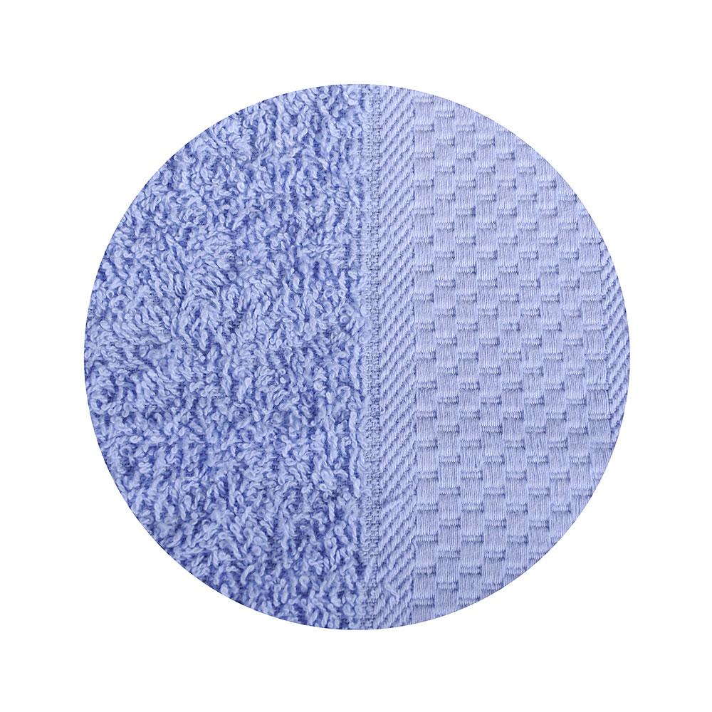 Полотенце банное махровое, 70х130см, голубое