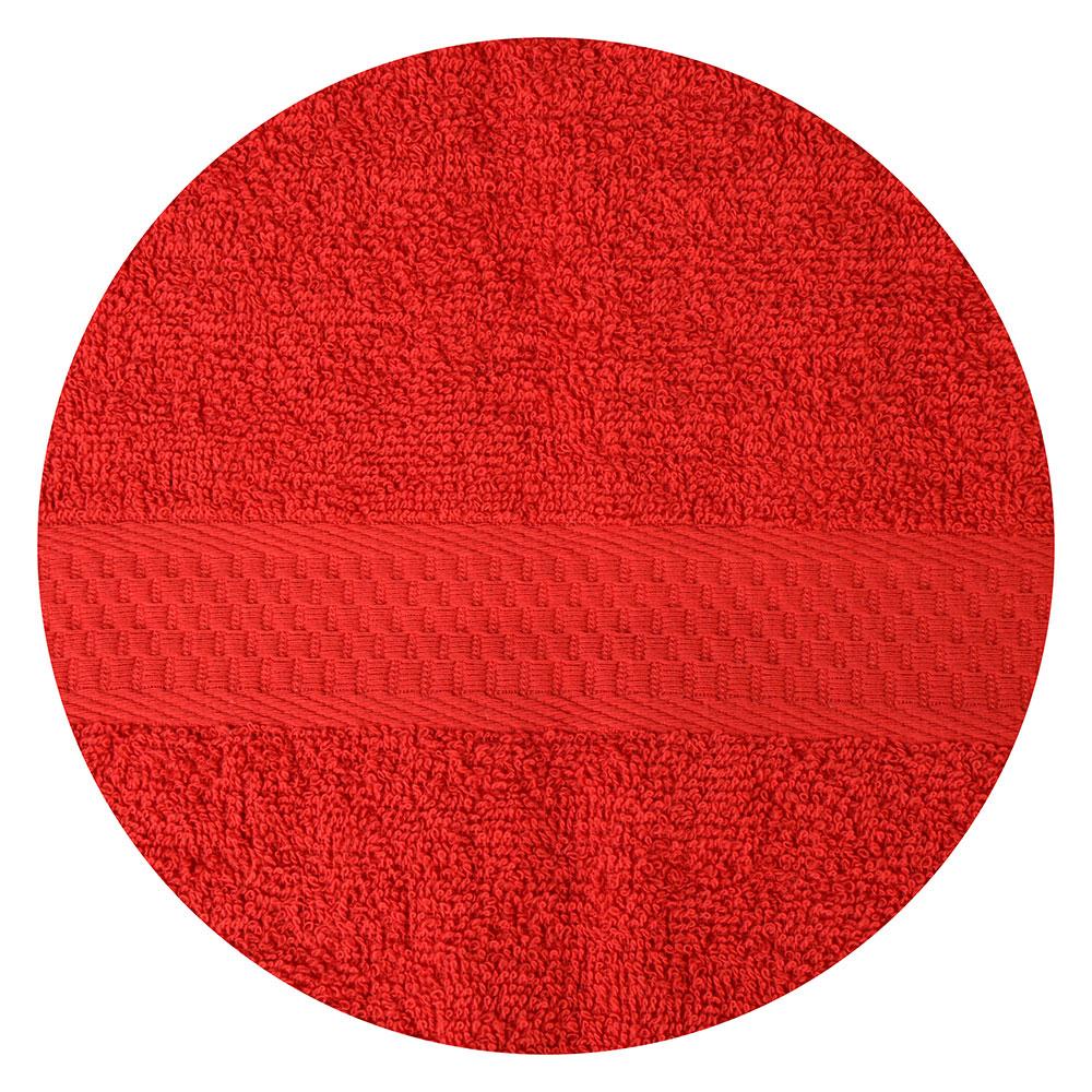 Полотенце банное махровое, 70х130см, красное