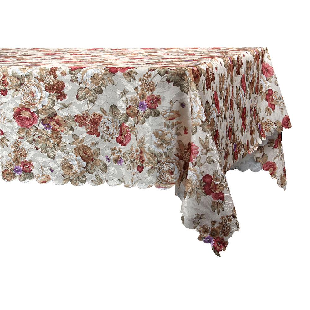 Скатерть на стол, полиэстер, 140x180см
