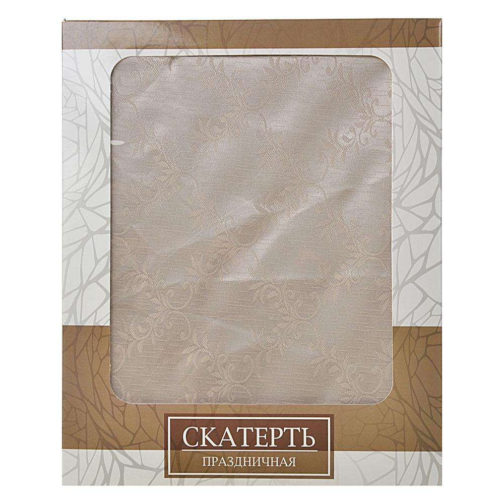 Скатерть 80x140 см, в подарочной упаковке, 4 дизайна, полиэстер
