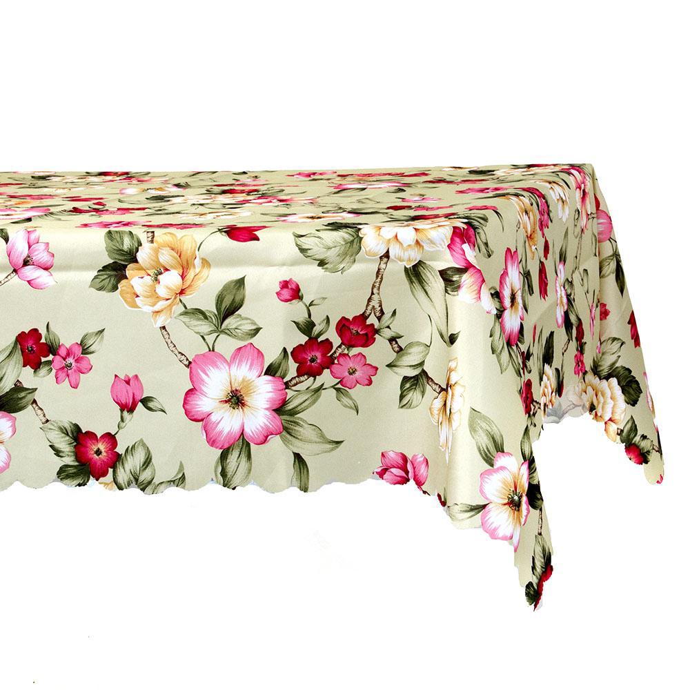 Скатерть на стол, полиэстер, 140x220см