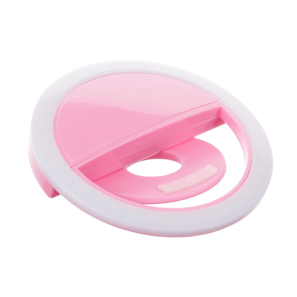FORZA Световое кольцо для селфи, пластик, 4 цвета