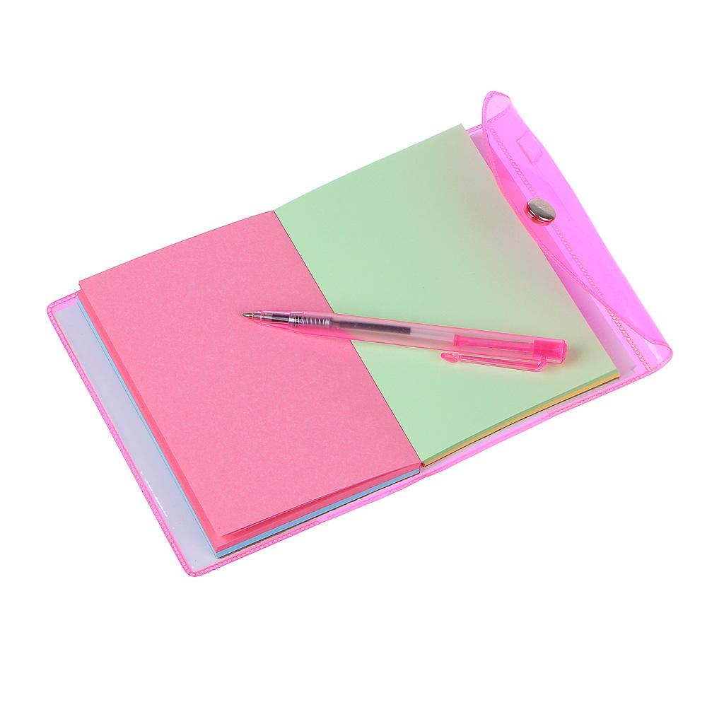 Записная книжка ClipStudio с ручкой, 98 листов, 4 цвета