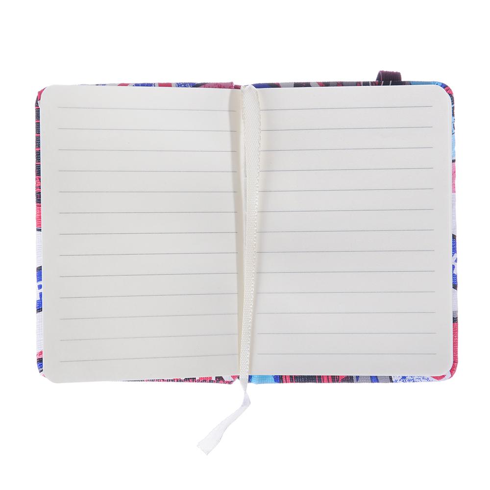 Записная книжка А7 80 листов, 4 дизайна