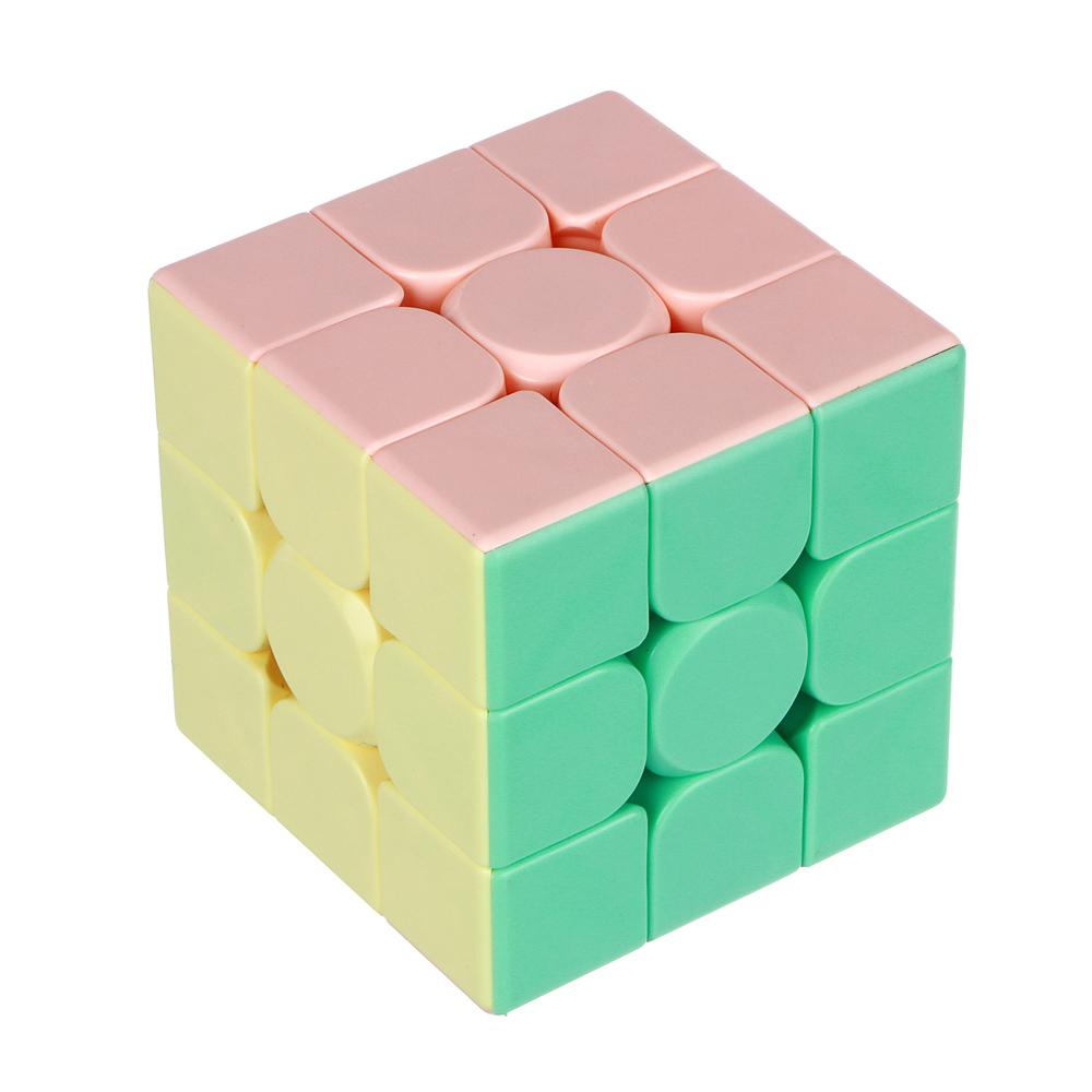 "Кубик-головоломка ""Собери цвета"", пластик, 5,6см, 6605B"
