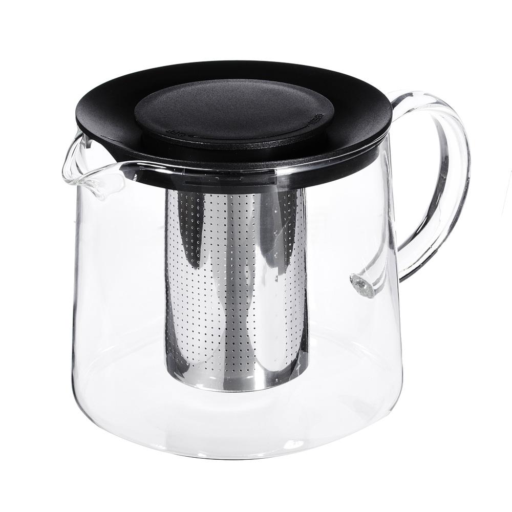 """Чайник заварочный, жаропрочное стекло, 1,5л, SATOSHI """"Цейлон"""""""
