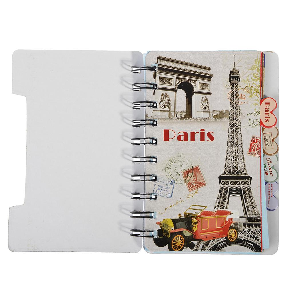 Записная книжка Города 60 листов, 3 дизайна