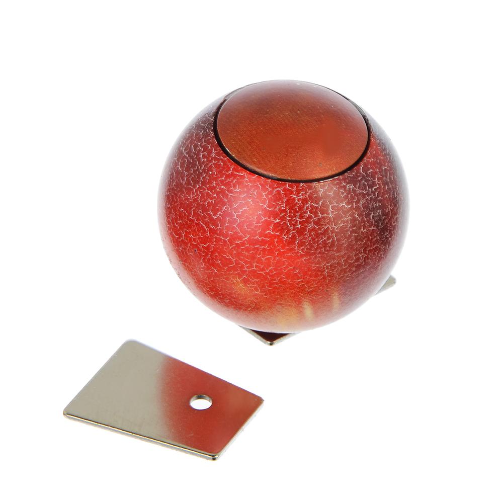 Спиннер сферический, d4,5см, металлический сплав, 4 цвета, арт 120711