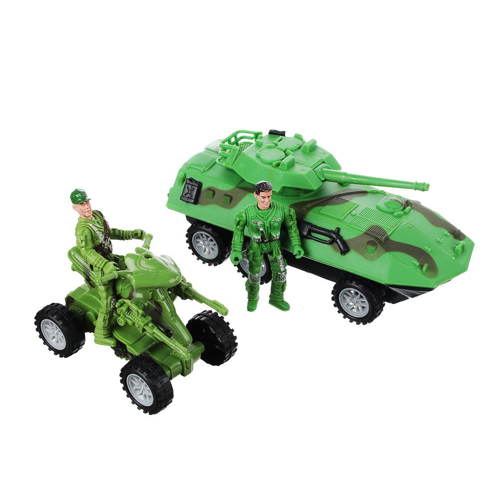 ИГРОЛЕНД Игровой набор Полицейская операция: авто-/авиа техника, металл, пластик, 27,5х10,5х25см