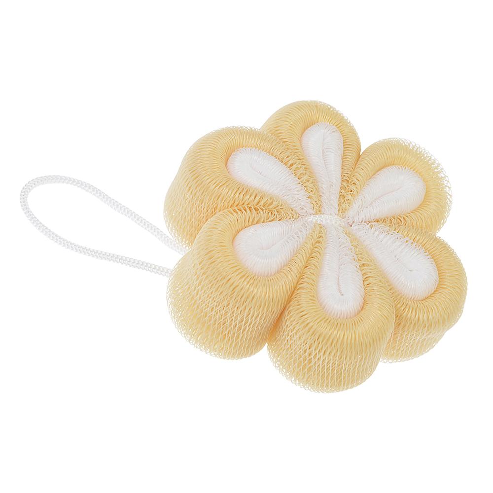 Мочалка-спонж в виде цветка, 40г, 2 цвета