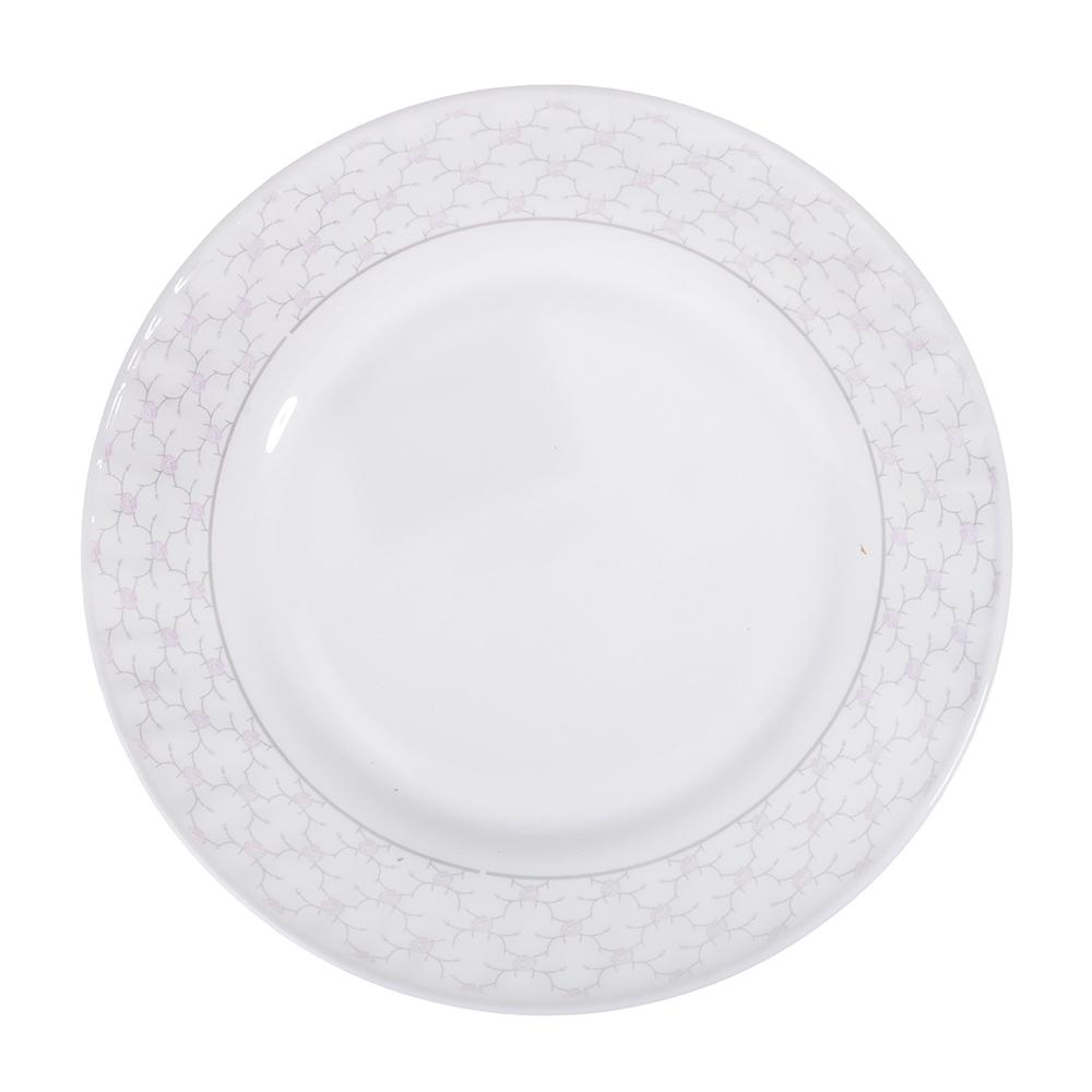 "Тарелка десертная, опаловое стекло, 20 см, MILLIMI ""Лаура"""