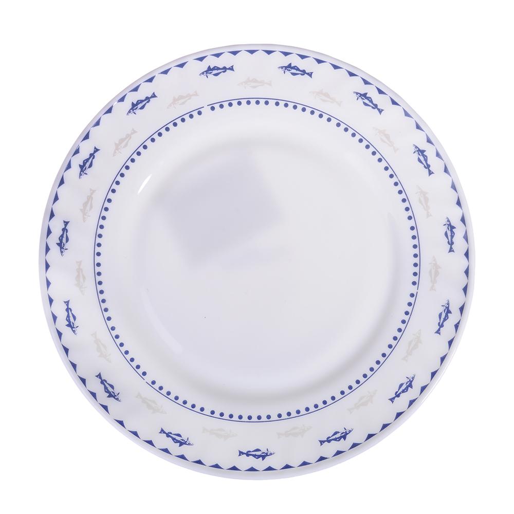 "Тарелка десертная, опаловое стекло, 20 см, MILLIMI ""Ванда"""