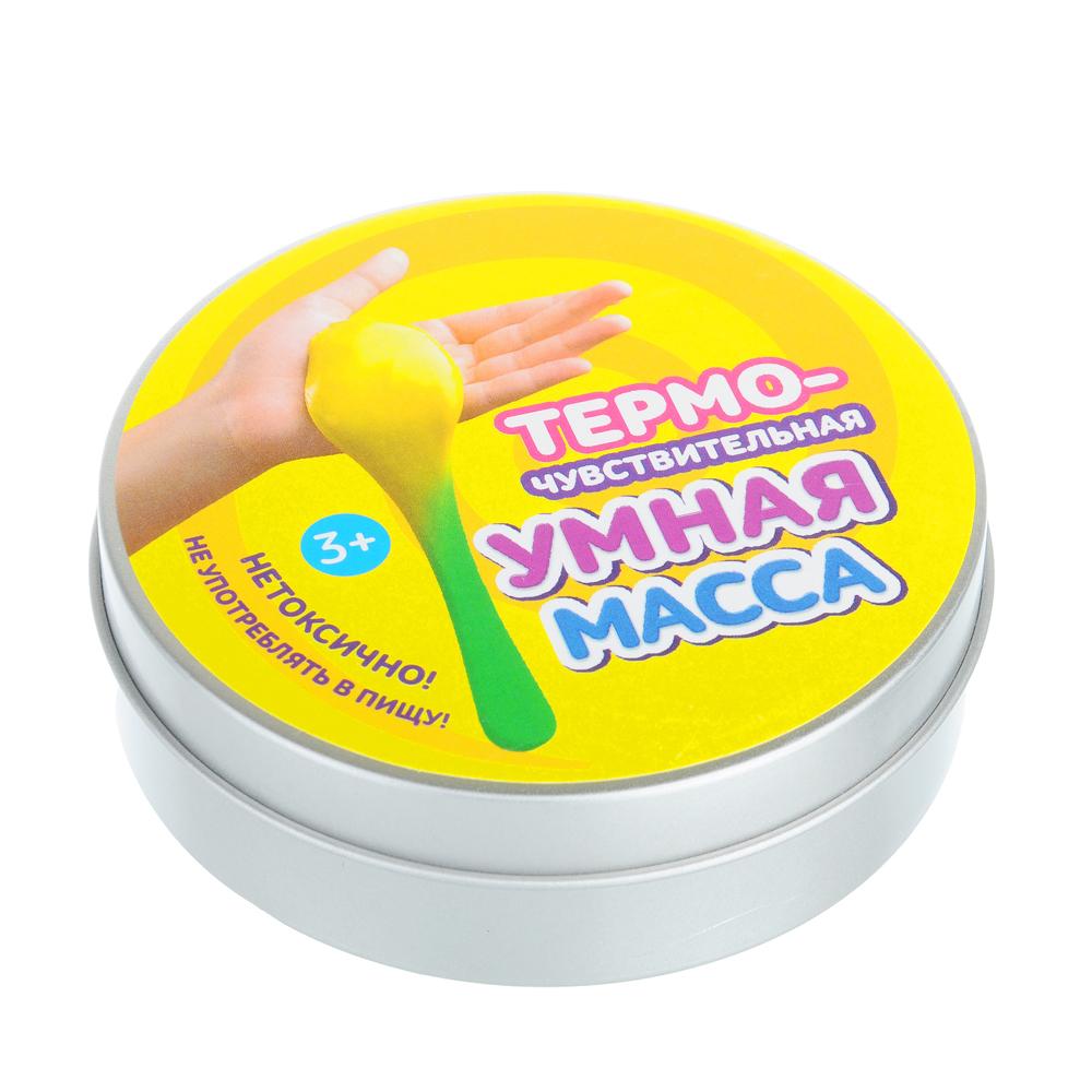 Умная масса Термочувствительная (меняет цвет), (пластилин), полимер, 58-60гр