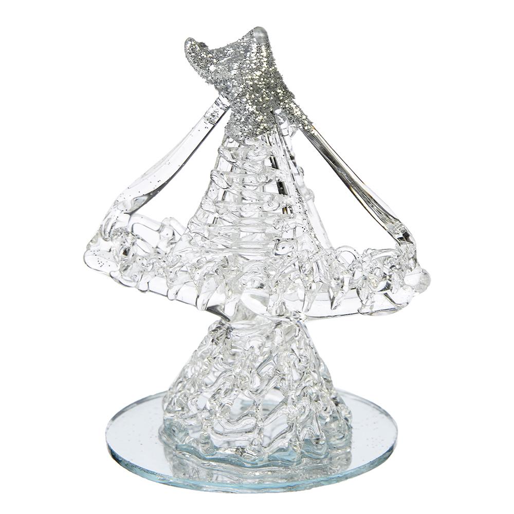 Фигурка Коллекция Хрусталики в виде корабля, стекло, 7,5х5,7х4,7см