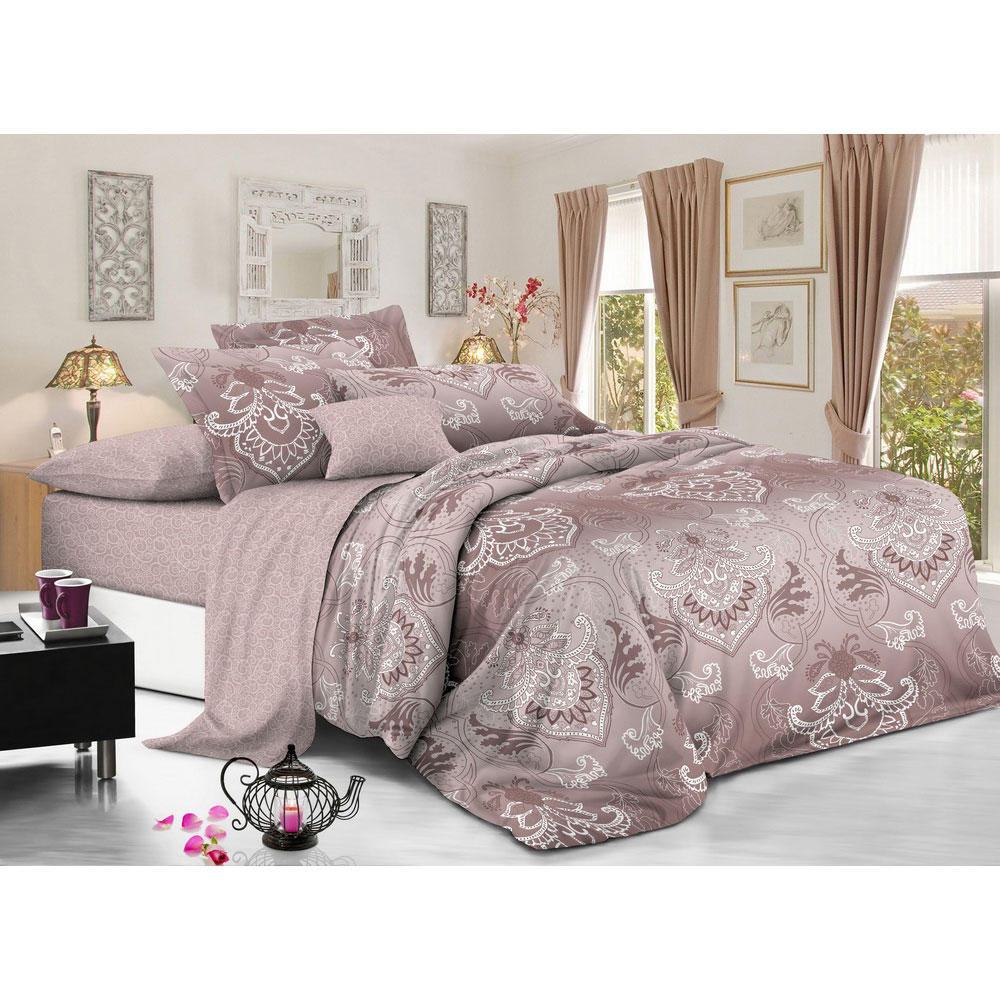 """Комплект постельного белья 2 спальный, сатин, """"Луксор"""""""