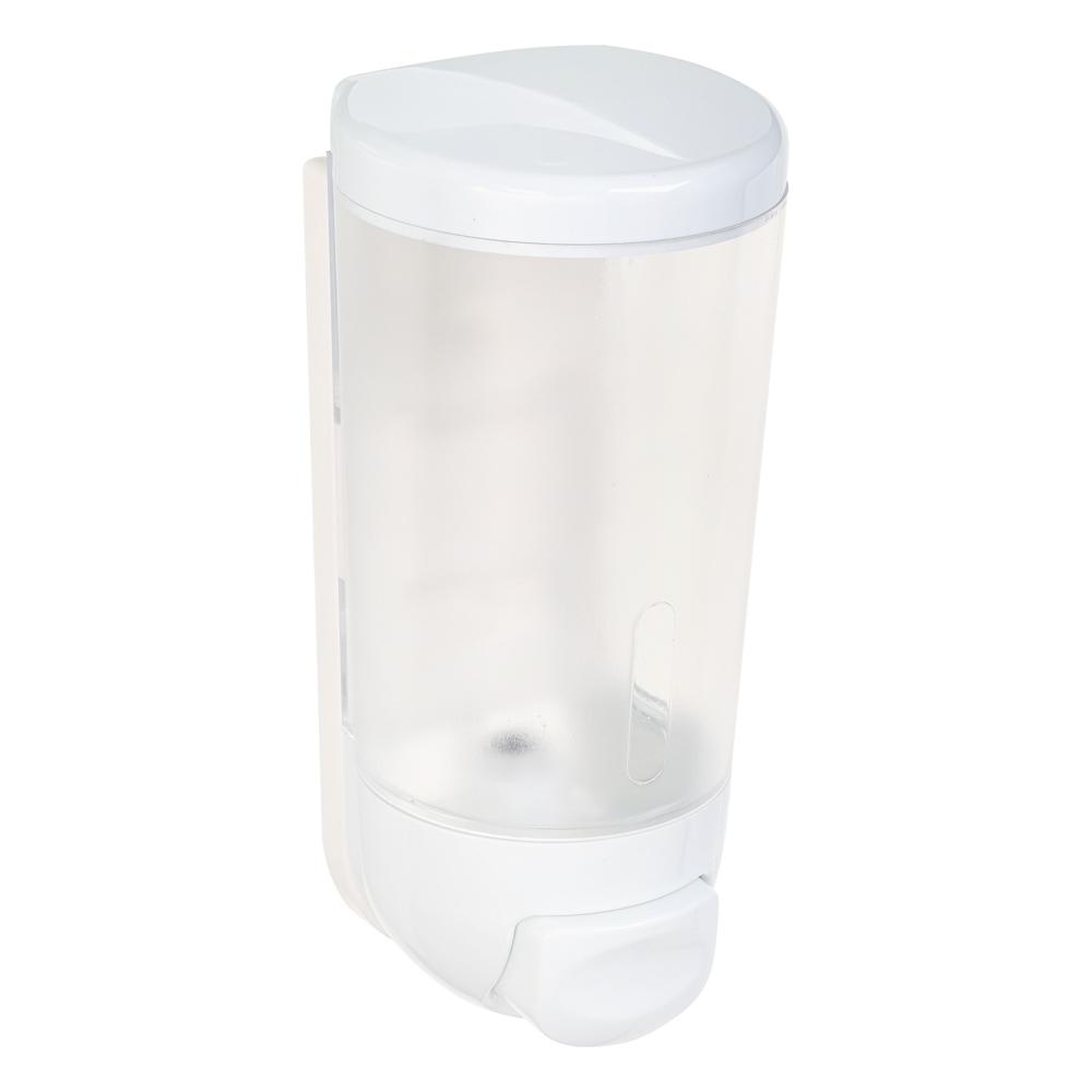 Дозатор для жидкого мыла, настенный, 400 мл