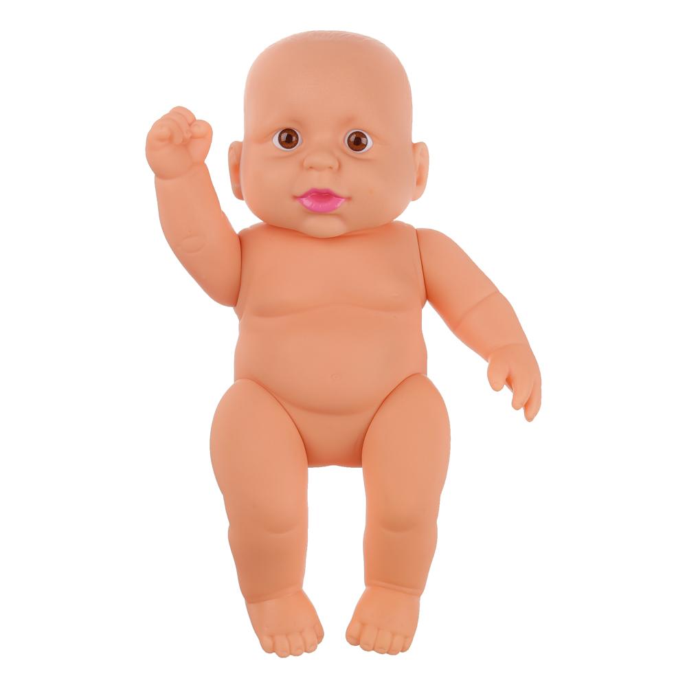 Пупс в ванночке с аксессуарами, пластик, упак. 24х15х14см, 2 дизайна