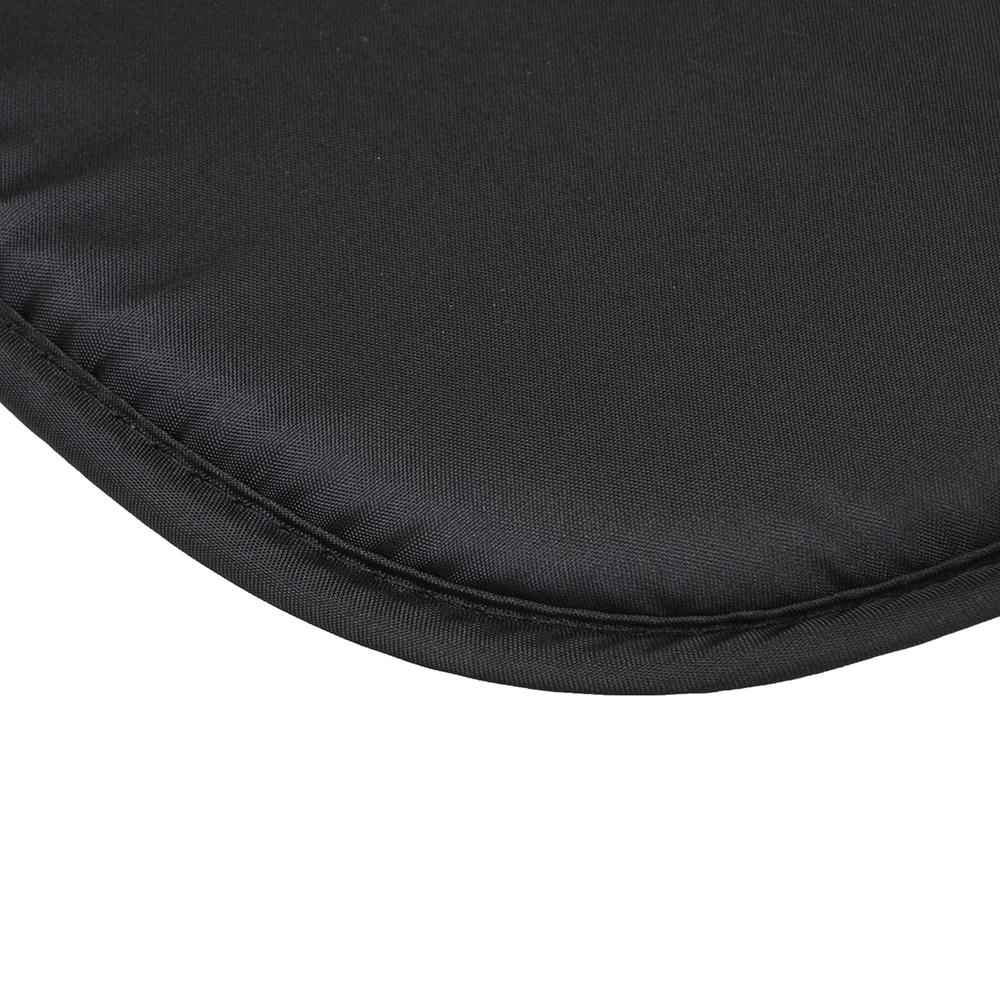 Подушка на стул с завязками, 36х36см
