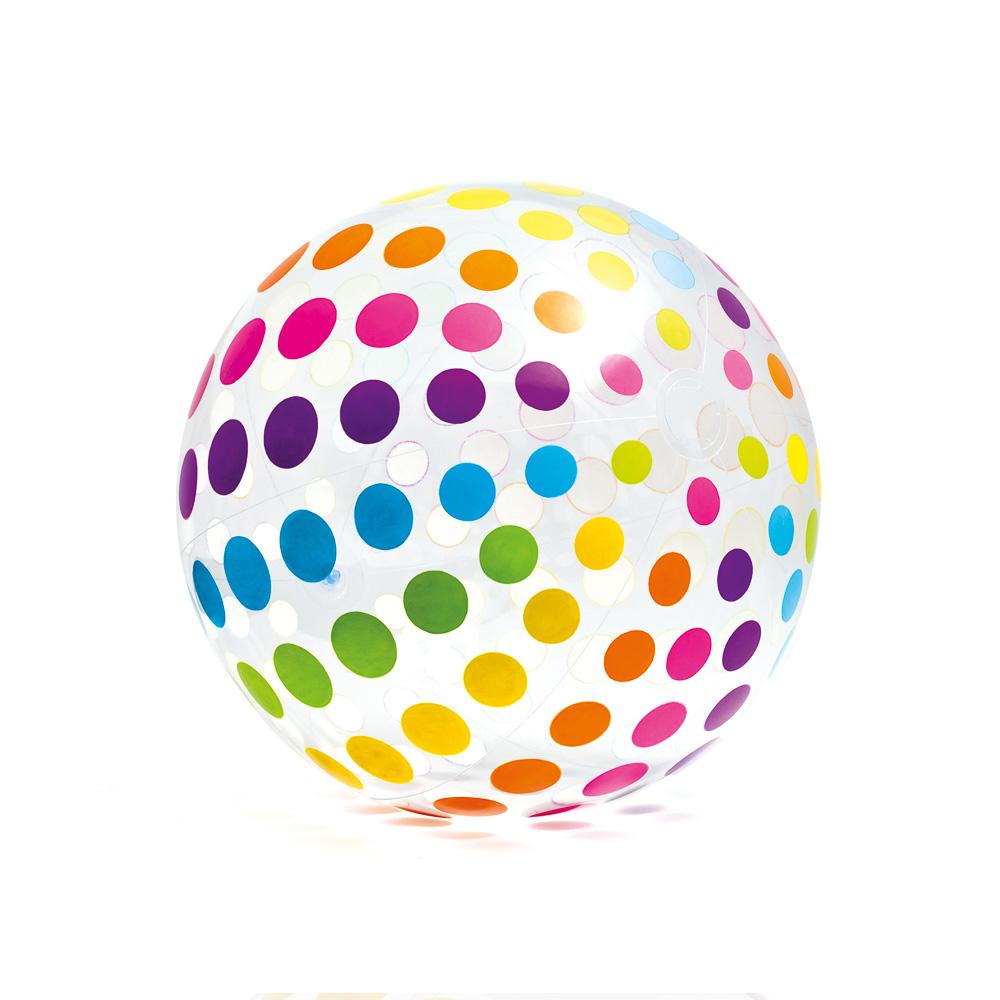 Мячик надувной, 107 см, возраст 3+, INTEX, 59065