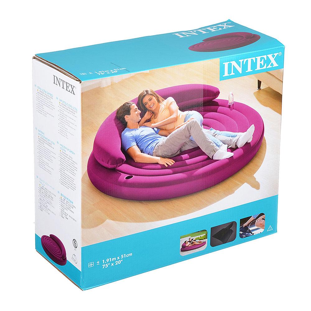 Кровать надувная, d191х51 см, INTEX, 68881